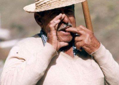 Legado Silbo Gomero, Grandes Silbadores, Silbador Domingo Hernández Santos, Foto de Archivo