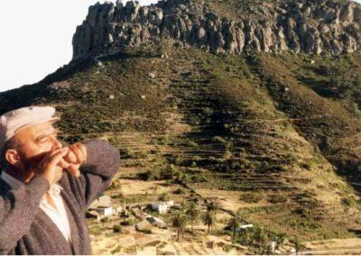 Legado Silbo Gomero, Grandes Silbadores, Silbador Isidro Ortiz Mesa, Foto de Archivo
