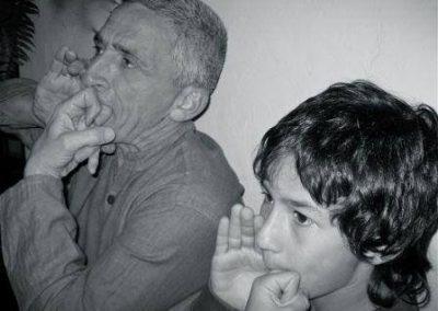 Legado Silbo Gomero, Grandes Silbadores, Silbador Gomero, Foto de Archivo